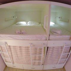 Гостиница HQ Hostelberry Кровать в общем номере двухъярусные кровати фото 29