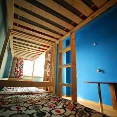 Хостел Ура рядом с Казанским Собором Кровать в мужском общем номере с двухъярусной кроватью фото 4