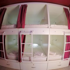Гостиница HQ Hostelberry Кровать в общем номере двухъярусные кровати фото 27