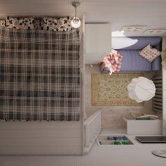 Хостел КойкаГо Номер Эконом с разными типами кроватей (общая ванная комната) фото 2