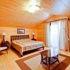 Гостиница Золотая бухта Бунгало с различными типами кроватей фото 8