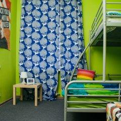 Хостел Достоевский Кровати в общем номере с двухъярусными кроватями фото 26