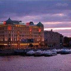 Гостиница Кортъярд Марриотт Санкт-Петербург Васильевский вид на фасад