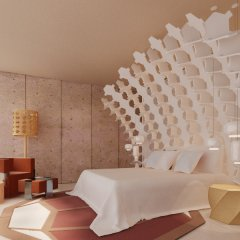 Отель Room Mate Aitana 4* Представительский номер с различными типами кроватей
