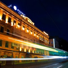 Гостиница AZIMUT Moscow Tulskaya (АЗИМУТ Москва Тульская) вид на фасад фото 2