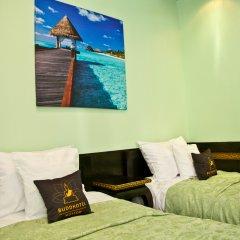Гостиница БуддОтель Москва 3* Номер Комфорт с двуспальной кроватью фото 2