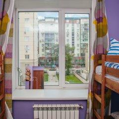 Хостел Достоевский Кровати в общем номере с двухъярусными кроватями фото 15