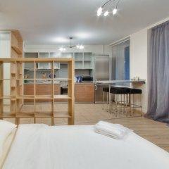 Апартаменты LikeHome Апартаменты Тверская Студия Делюкс разные типы кроватей фото 22