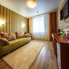 Гостиница Аврора 3* Стандартный номер с двумя спальнями с разными типами кроватей фото 3