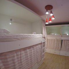 Гостиница HQ Hostelberry Кровать в общем номере с двухъярусной кроватью фото 2