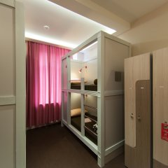 Хостел Привет Кровать в мужском общем номере двухъярусные кровати