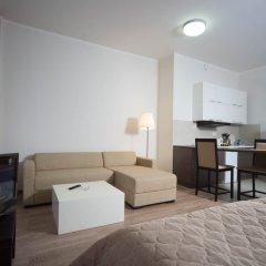 Апартаменты VALSET от AZIMUT Роза Хутор Студия Делюкс с различными типами кроватей