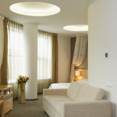 Гостиница Визави комната для гостей фото 5