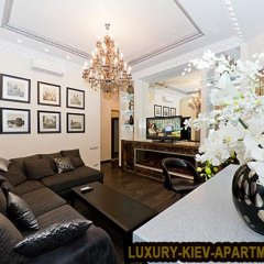 Апартаменты Luxury Kiev Apartments Крещатик Апартаменты с 2 отдельными кроватями фото 4