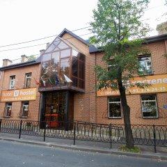 """Хостел """"Вхостеле"""" вид на фасад"""