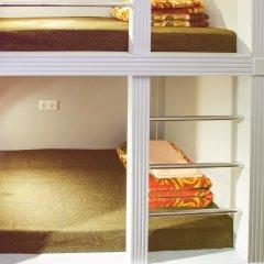 Хостел Привет Кровать в общем номере двухъярусные кровати фото 5