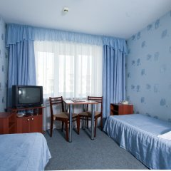 Гостиница AMAKS Центральная Номер Эконом разные типы кроватей фото 6