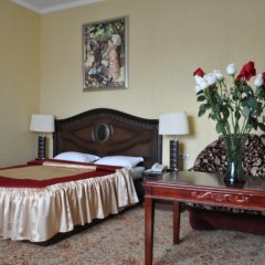 Гостиница Гранд Уют 4* 1-я категория Номер Стандарт двуспальная кровать фото 8