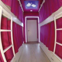 Гостиница HQ Hostelberry Кровать в общем номере двухъярусные кровати фото 17