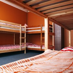 Хостел Достоевский Кровать в женском общем номере с двухъярусными кроватями фото 11