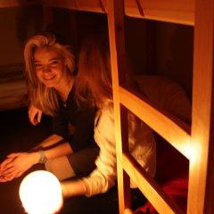 Хостел Бабушка Хаус Кровать в женском общем номере с двухъярусной кроватью фото 2