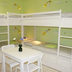 Гостевой Дом Полянка Кровать в женском общем номере с двухъярусными кроватями фото 2