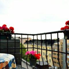 Отель Kongressikoti Hotel Финляндия, Хельсинки - 2 отзыва об отеле, цены и фото номеров - забронировать отель Kongressikoti Hotel онлайн балкон