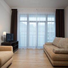 Апартаменты VALSET от AZIMUT Роза Хутор Студия с различными типами кроватей