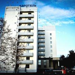 Гостиничный комплекс Аэротель Домодедово вид на фасад