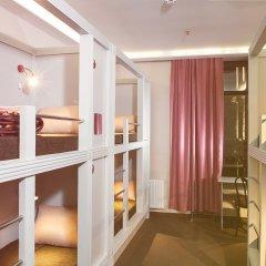 Хостел Привет Кровать в женском общем номере двухъярусные кровати
