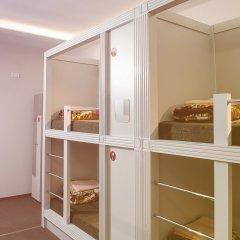 Хостел Привет Кровать в женском общем номере двухъярусные кровати фото 3