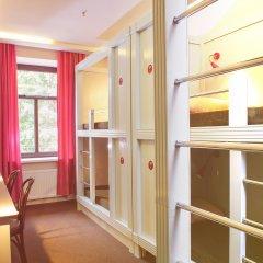 Хостел Привет Кровать в женском общем номере двухъярусные кровати фото 2