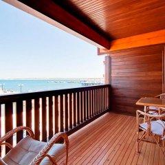 Гостиница Золотая бухта Улучшенное бунгало с различными типами кроватей фото 7