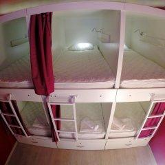 Гостиница HQ Hostelberry Кровать в общем номере с двухъярусной кроватью фото 26