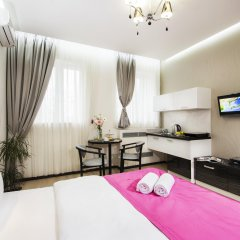 Status Apartments Mini-Hotel Апартаменты с разными типами кроватей фото 6