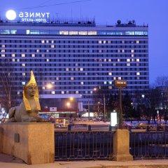 Гостиница Азимут Санкт-Петербург вид на фасад