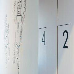Хостел Graffiti L Кровать в женском общем номере с двухъярусной кроватью фото 4