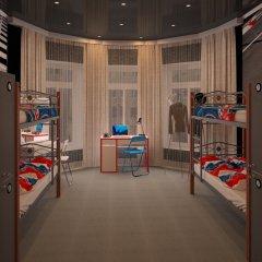 Hostel Racing Paradise Кровать в общем номере с двухъярусной кроватью фото 8