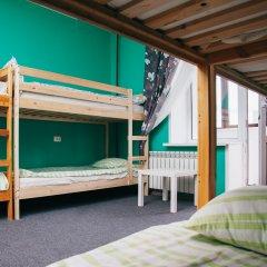 Хостел Достоевский Кровати в общем номере с двухъярусными кроватями фото 4