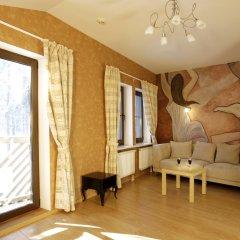 Гостиница Лесная Рапсодия Улучшенные апартаменты с различными типами кроватей фото 21