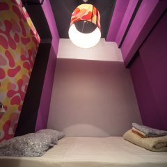 Хостел Fabrika Moscow Номер Эконом с разными типами кроватей (общая ванная комната) фото 6