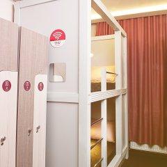 Хостел Привет Кровать в общем номере двухъярусные кровати фото 2