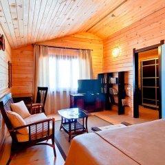 Гостиница Золотая бухта Улучшенное бунгало с различными типами кроватей