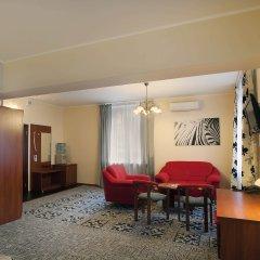Гостиница Золотой Колос Студия Делюкс разные типы кроватей фото 5