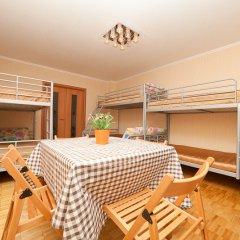 Гостиница Гостевые комнаты Аврора УрФУ Кровать в общем номере с двухъярусной кроватью