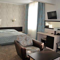 Гостиница Золотой Колос Студия Делюкс разные типы кроватей