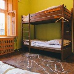 Хостел Элементарно Кровать в общем номере с двухъярусной кроватью фото 2