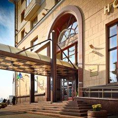 Гостиница Минск вид на фасад
