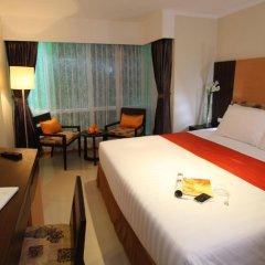 Отель Citin Pratunam Bangkok By Compass Hospitality 3* Улучшенная студия фото 7