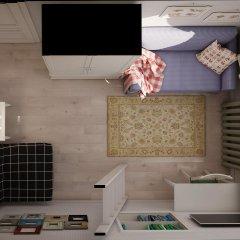 Хостел КойкаГо Номер Эконом с разными типами кроватей (общая ванная комната) фото 8